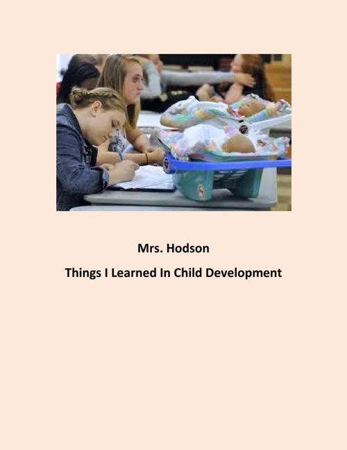 Hodson: Things I Learned in Child Development