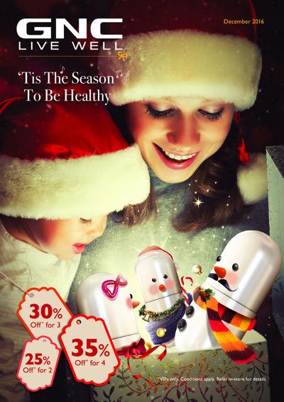GNC Dec'16 > Tis the Season to be Healthy