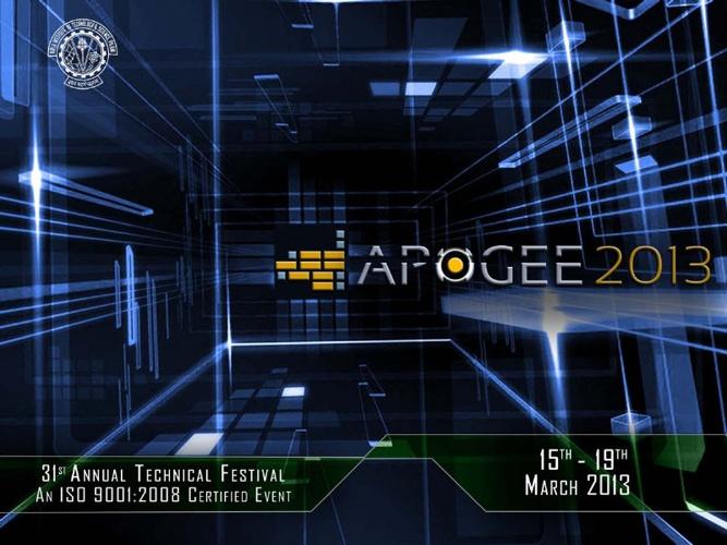 Apogee 2013