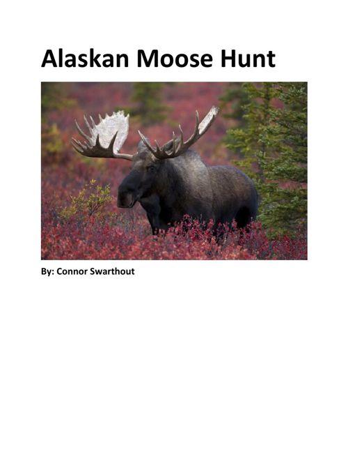 Alaskan Moose Hunt