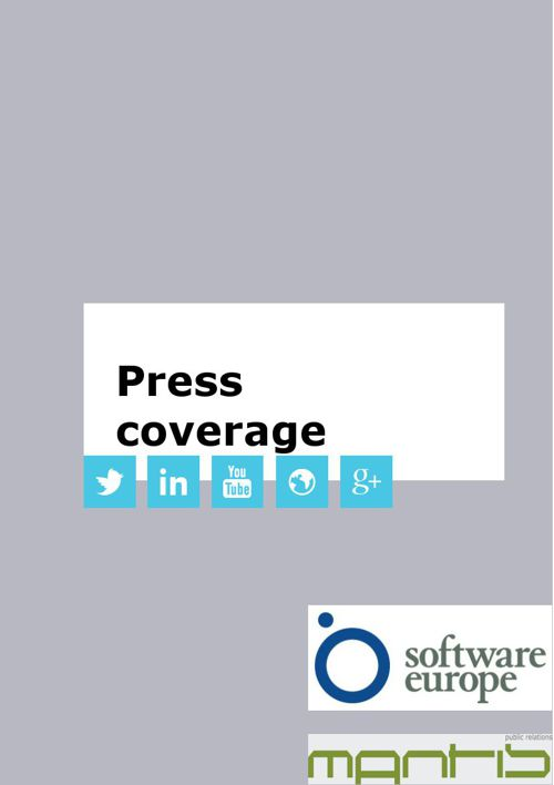 Software Europe press coverage 2014-2015