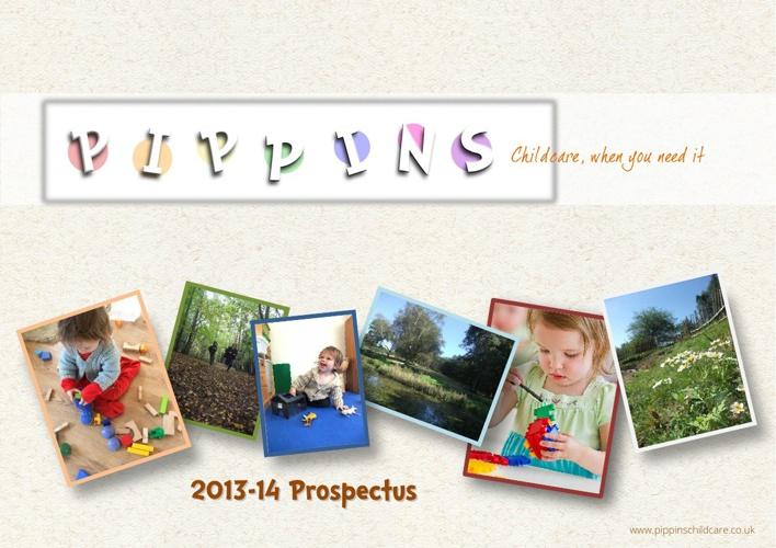 Pippin's Childcare.   2013 Prospectus