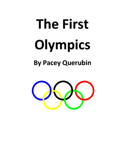 The First Olympics by Pacey