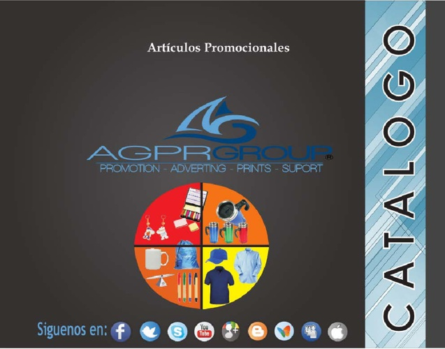 CATALOGO AGPRGROUP 2013