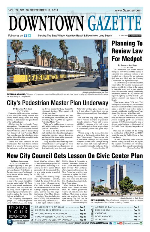 Downtown Gazette     September 19, 2014