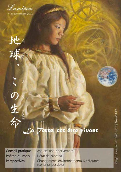 """""""Lumières"""" n°23 - novembre 2015 - La Terre, cet être vivant"""