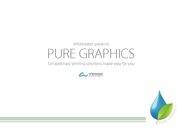 Pure Graphics from Whitewater Graphics & Design