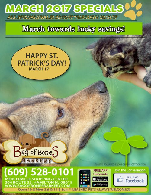 March 2017 Sales and Specials