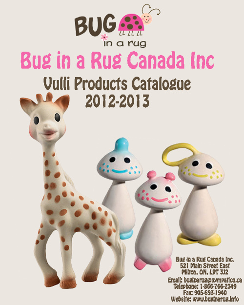 2012-2013 Vulli Product Catalogue (bug in a rug)