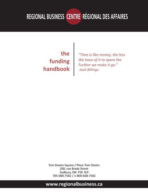 The Funding Handbook