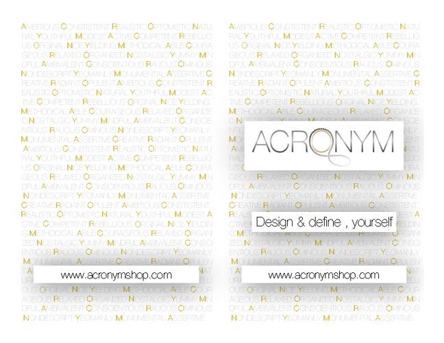 Acronym Magnetic Jewelry Lookbook 2012