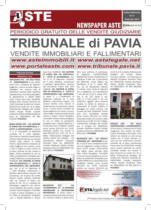Pavia settembre 2014