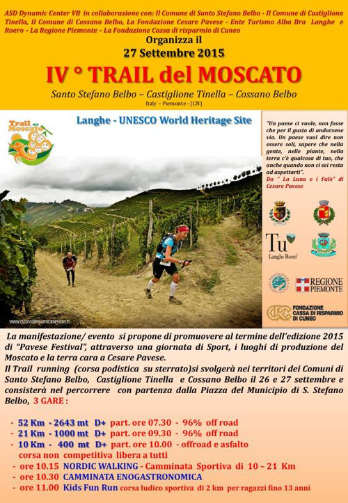 Trail del Moscato