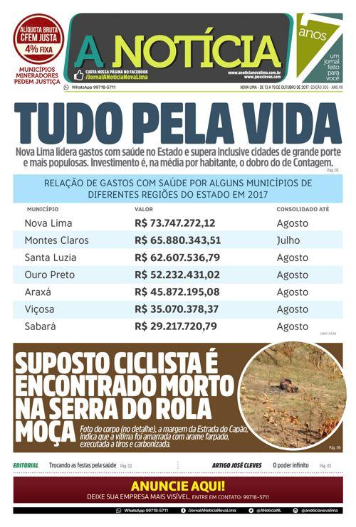 Jornal A Notícia - Edição 305