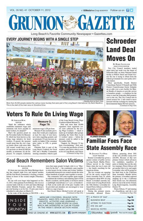 Grunion Gazette | October 11, 2012