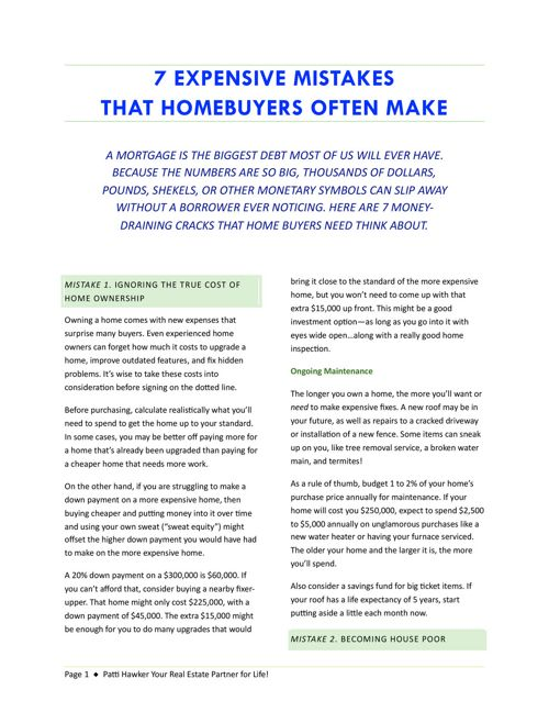 mistakes_homeowners_make