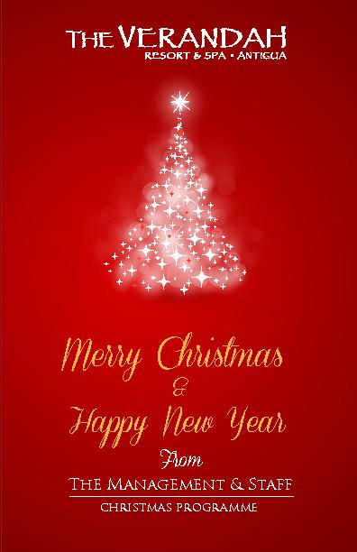 2012 Verandah Christmas Programme