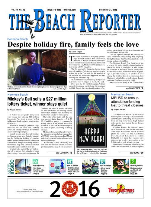 The Beach Reporter | 12-31-15