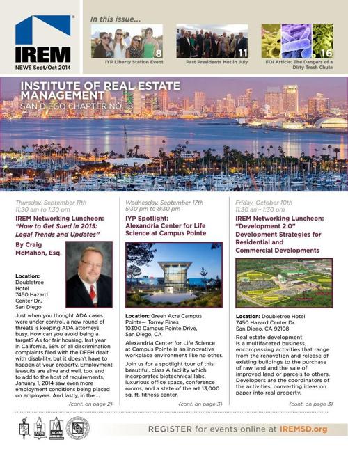 IREMSD September/October 2014