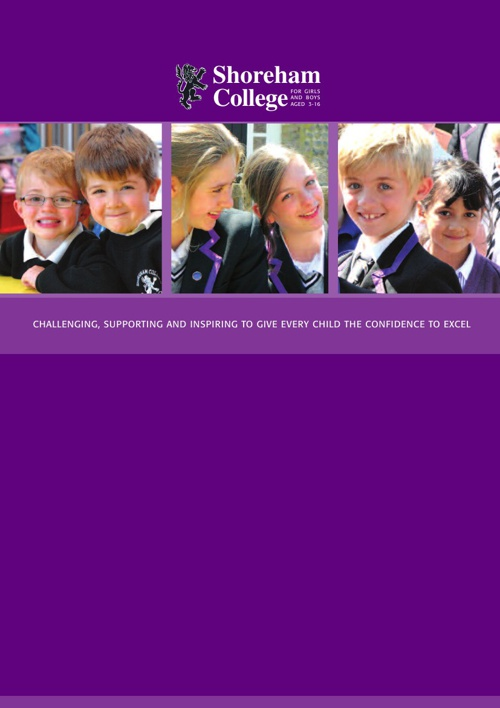 Shoreham College Prospectus