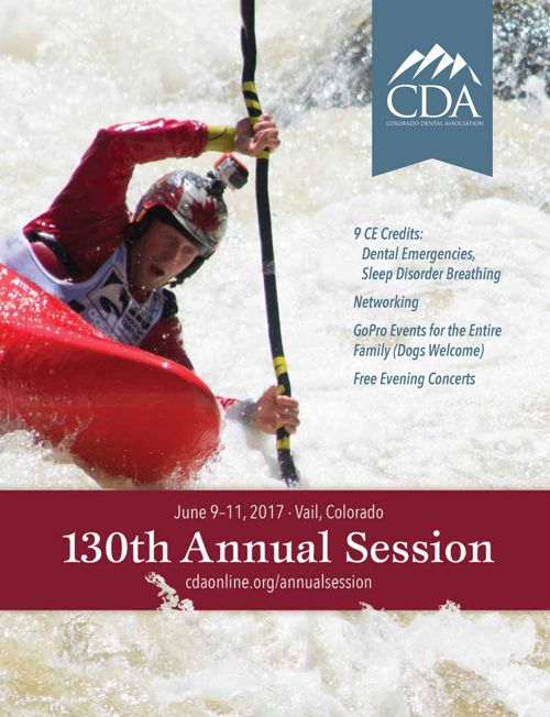 2017 CDA Annual Session Brochure
