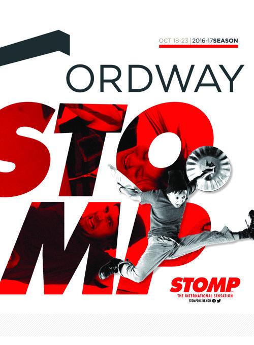 Stomp Program | 2016-17 Ordway Season