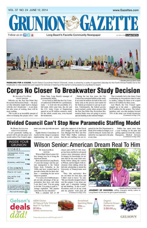 Grunion Gazette | June 12, 2014