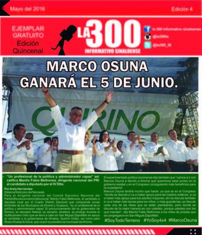 4ta Edicion La 300 Informativo Sinaloense.