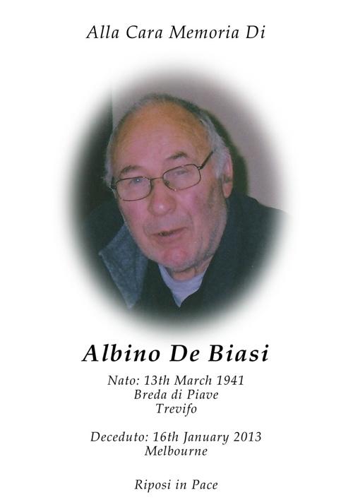 Albino De Biasi