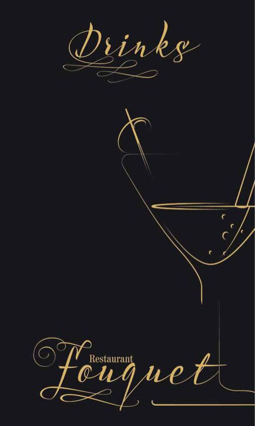 Restaurant Fouquet's Drinks Menu