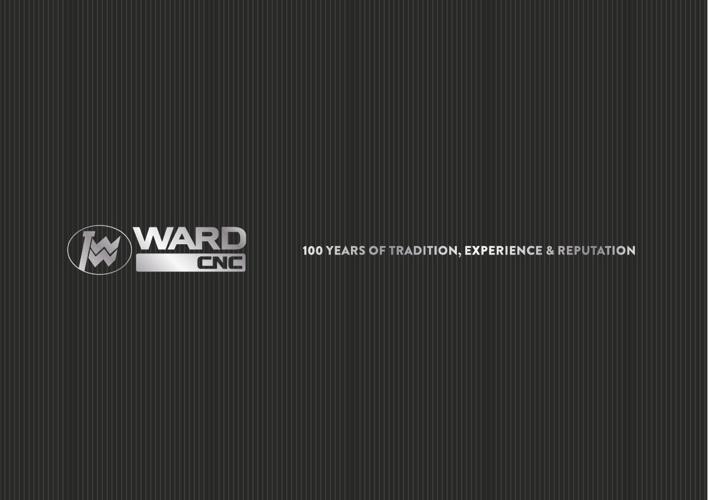 Ward CNC Corporate Brochure