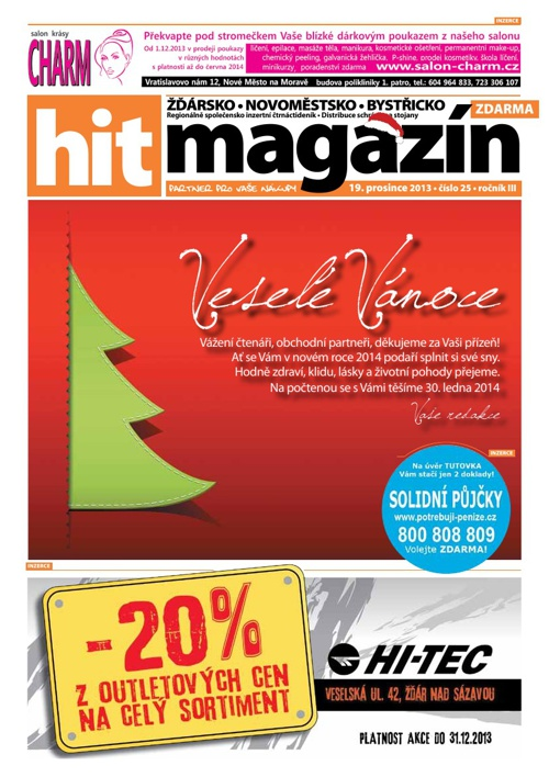 Hit magazín č.25 2013