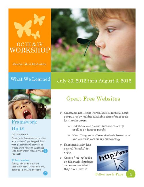 Digital Communications III & IV Workshop 2012