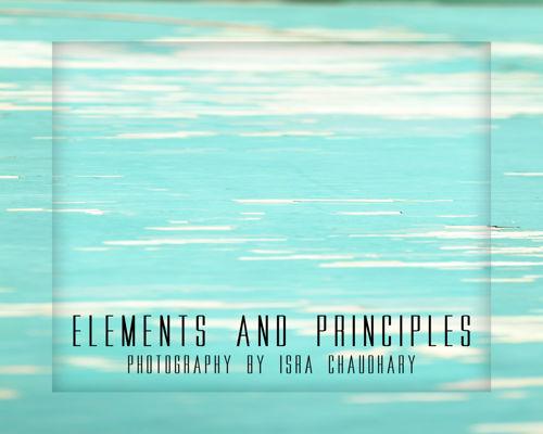 Isra Chaudhary's Elements & Principles Portfolio
