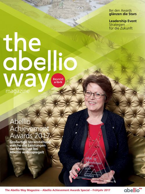 Abellio Way Magazine - Abellio Achievement Awards  - German