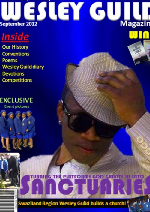 WESLEY GUILD MAGAZINE: September edition