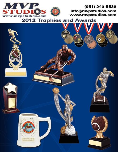 MVP Studios 2012 Trophy & Awards Catalog