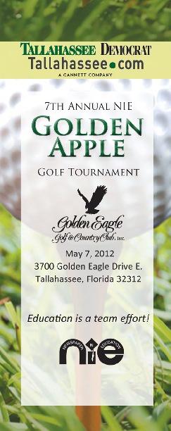 2013 Golden Apple Golf Tournament Brochure