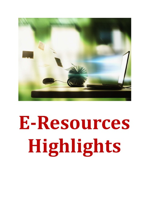 e-Resources Highlights