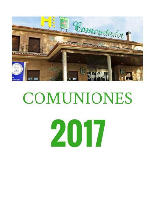 Finca Comendador - Comuniones 2017