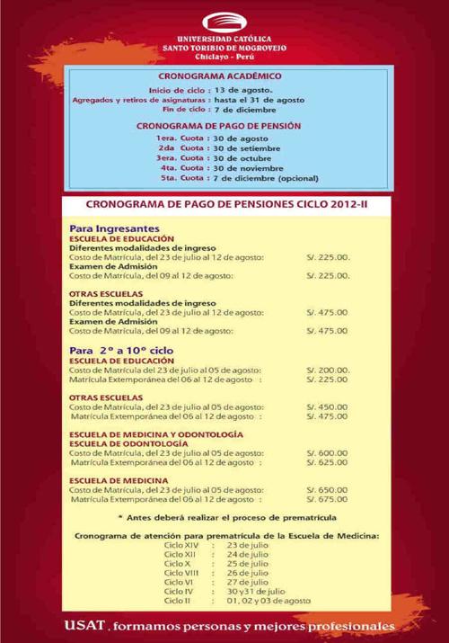 Servicios USAT 2012