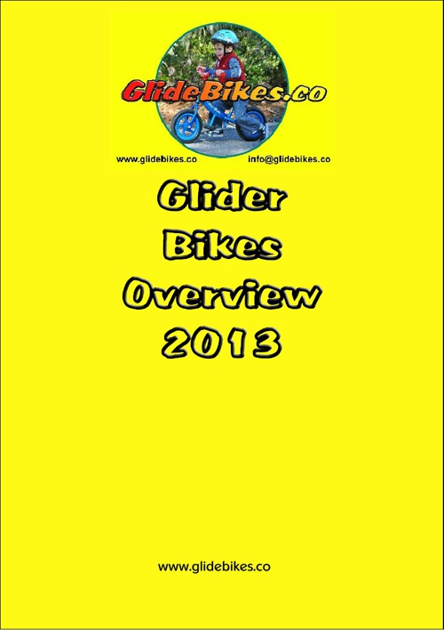 Gliders Overview 2013