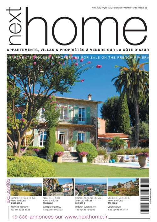 Magazine Nexthome Avril 2013