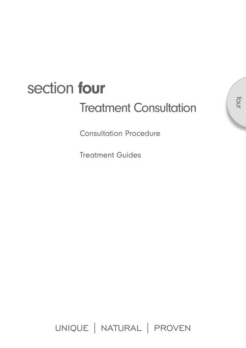 Monu Therapist manual section 4 treatment consultation