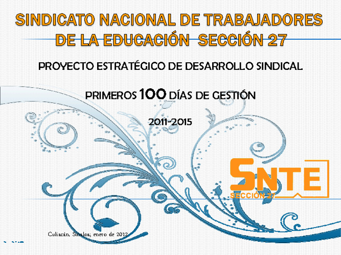 PROYECTO ESTRATEGICO DE DESARROLLO SINDICAL