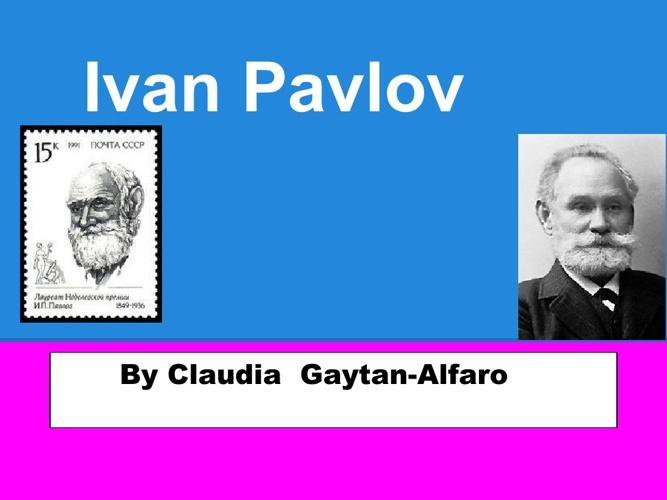 p. 3  Gaytan Pavlov