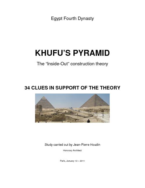 Khufu's Pyramid Reborn