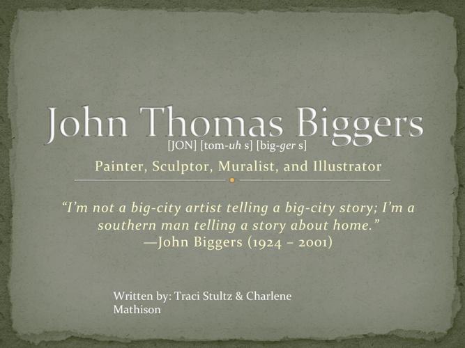 John Thomas Biggers