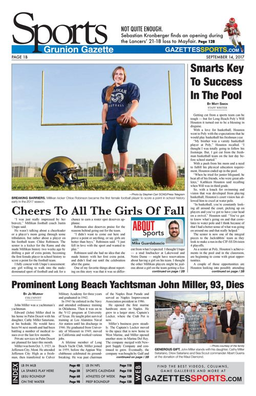 Gazette Sports 9-14-17