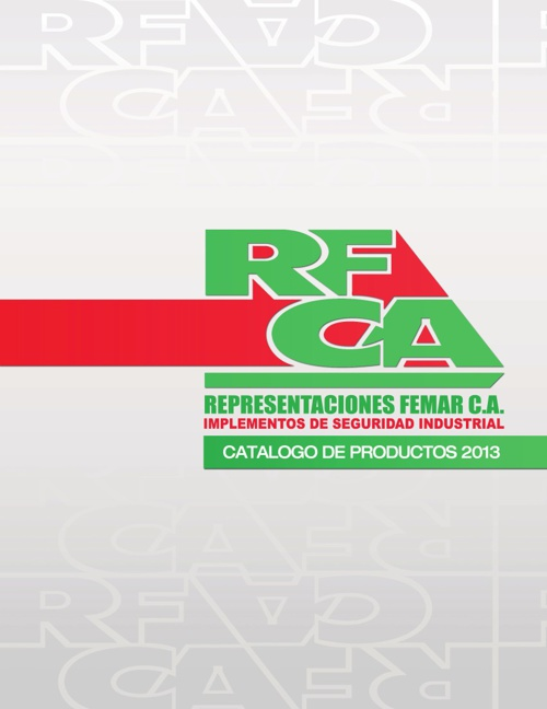REFECA - CATALOGO 2013